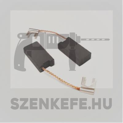 Szénkefe 6,3x12,5x23 mm (0156)