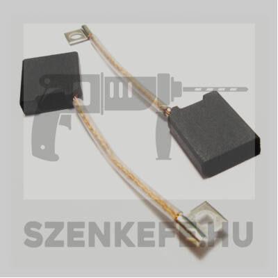 Szénkefe 6,3x20x25 mm (0702)