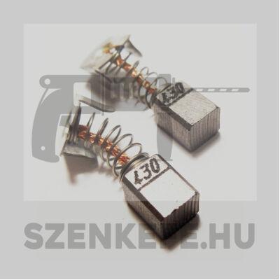 Szénkefe 7x7,4x9,5 mm (1217)