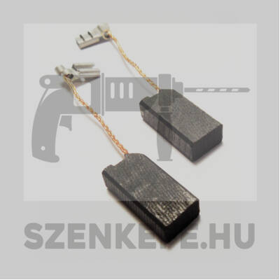 Szénkefe 6,3x10x20 mm (1357)