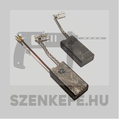 Szénkefe 6,3x12,5x25 mm (2140)