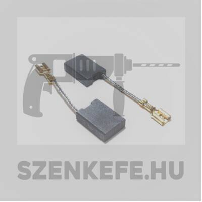 Szénkefe 6,3x16x22 mm (2150)