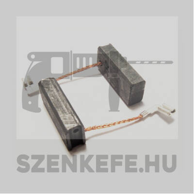 Szénkefe 6,5x11x25 mm (3176)