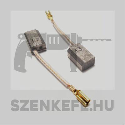 Szénkefe 6,5x9x13,5 mm (3407.06)