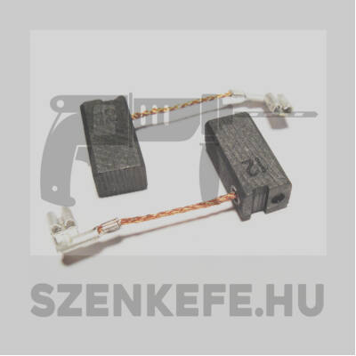 Szénkefe 6,4x8x16 mm (3433)